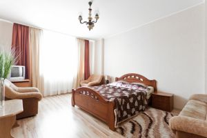Kuntsevshchina subway station, 1-one-bedroom apartment for rent in Minsk, Prytytskaga street, house number 87