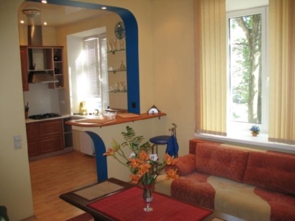 Pobedy square subway station, 1-one-bedroom apartment for rent in Minsk, Komunisticheskaya street