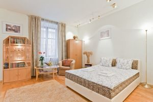 Nemiga subway station, 1-one-bedroom apartment for rent in Minsk, Lenina Street, house number 5