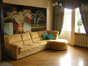 Yakub Kolas Square Subway station, 2-two-bedroom apartment for rent in Minsk, Romanovskaya Sloboda street, house number 7