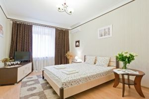 Moskovskaya subway station, 1-one-bedroom apartment for rent in Minsk, Nezavisimosti Avenue, house number 22