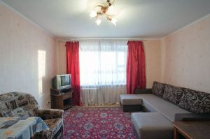 Frunzenskaya subway station, 3-three-bedroom apartment for rent in Minsk, Kalvariyskaya Street, house number 4