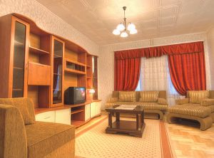 Nemiga Subway station, 4-four-bedroom apartment for rent in Minsk, Starovilenskaya street, House number 6